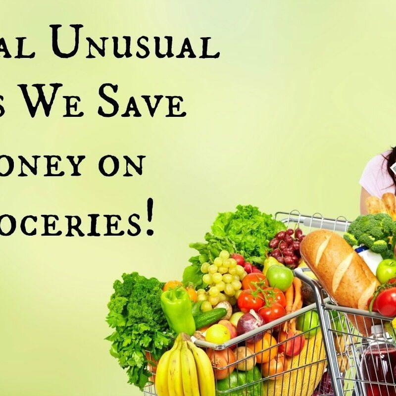 Several Unusual Ways We Save Money on Groceries