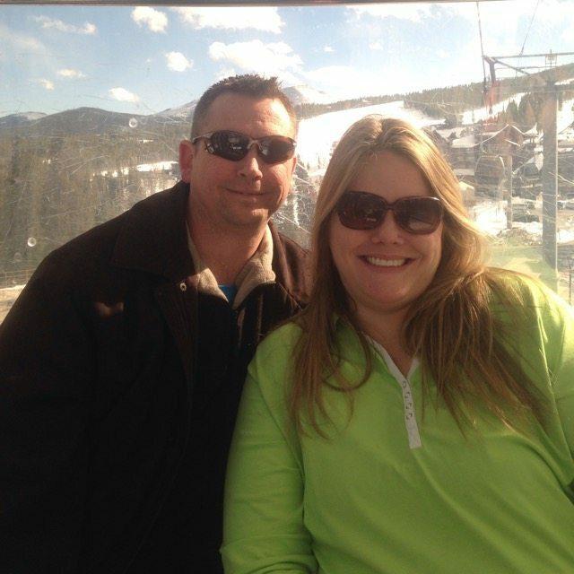 Ryan&Sarah on Gondola