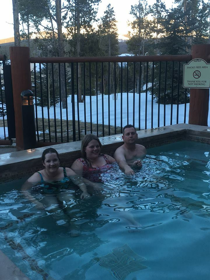hot tub in Breck