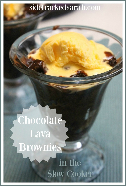 Chocolate Lava Brownie 4