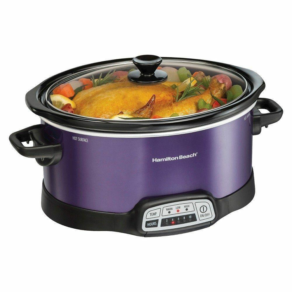 Purple Slow Cooker