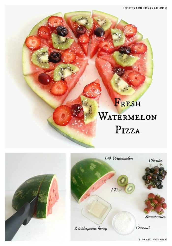 Fresh Watermelon Pizza