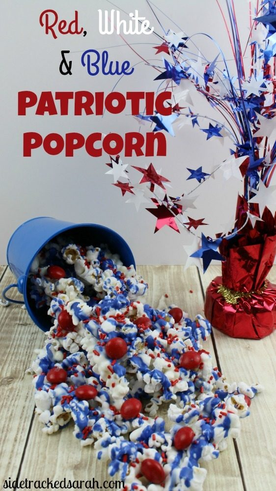 Patriotic Popcorn Cover