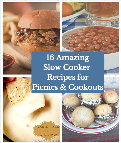 16 Amazing Slow Cooker Recipes for Picnics & Cookouts