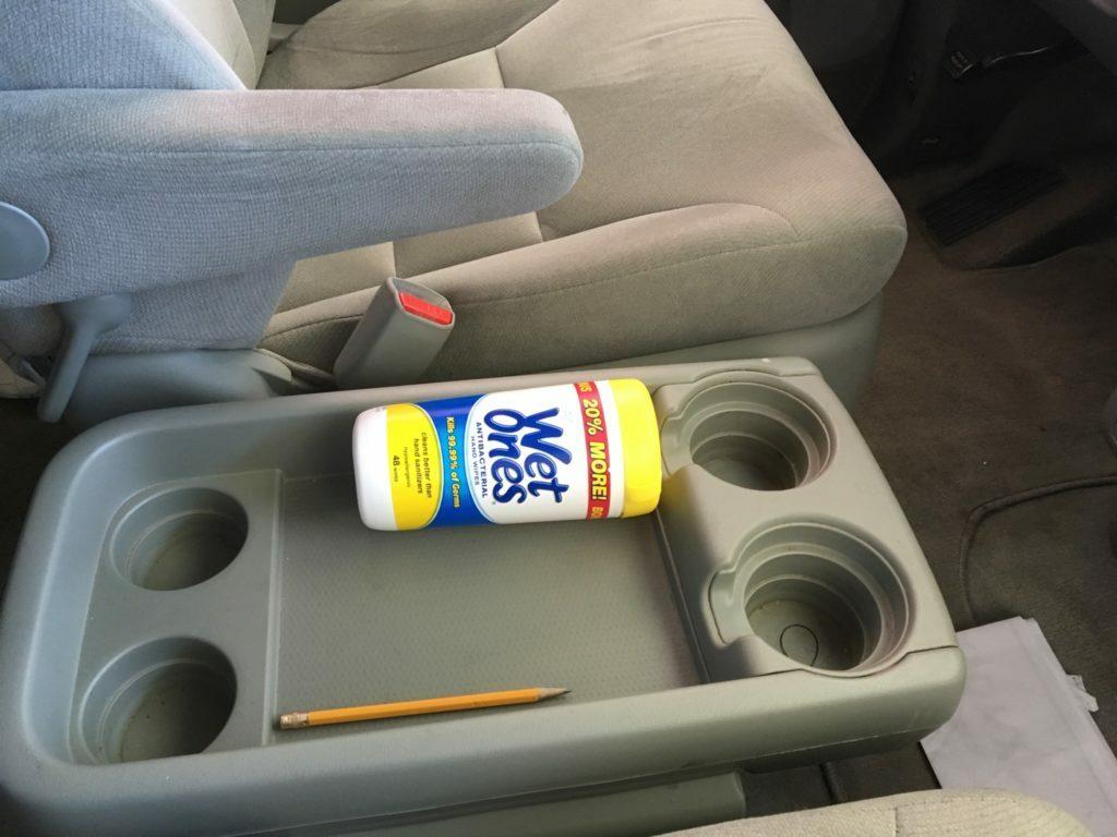 Wet ones in the Car