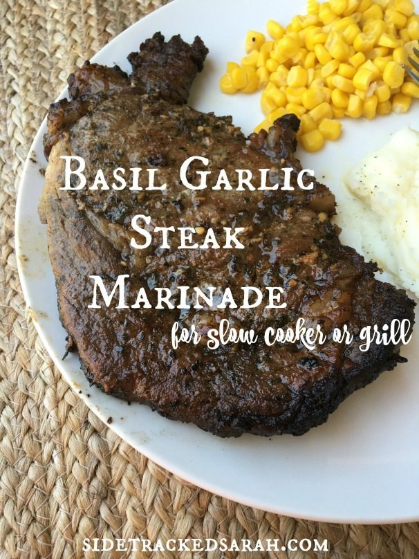 Bail Garlic Steak Marinade