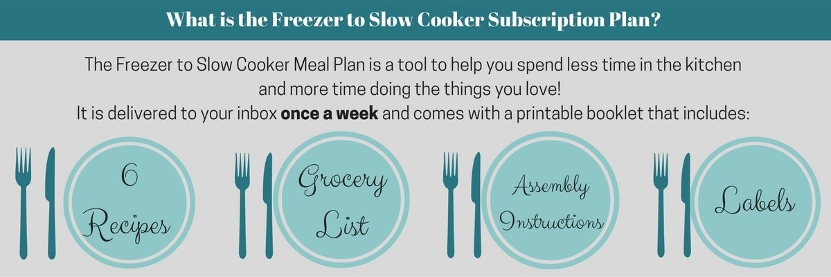 What is the Freezer to Slow Cooker Meal Plan?