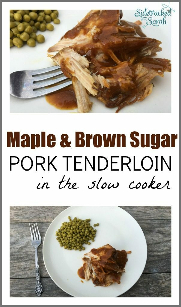 This pork tenderloin has the most AMAZING flavor.  You have to try it!!