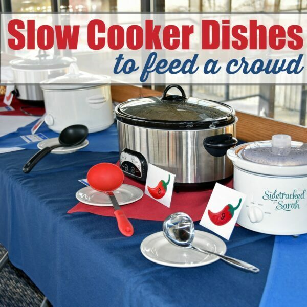 I am always looking for easy slow cooker dishes to pull together when we have company. This is my answer!