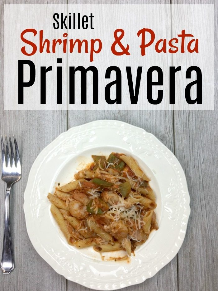 Shrimp and Pasta Primavera Recipe