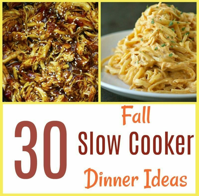 30 Slow Cooker Dinner Ideas for Fall