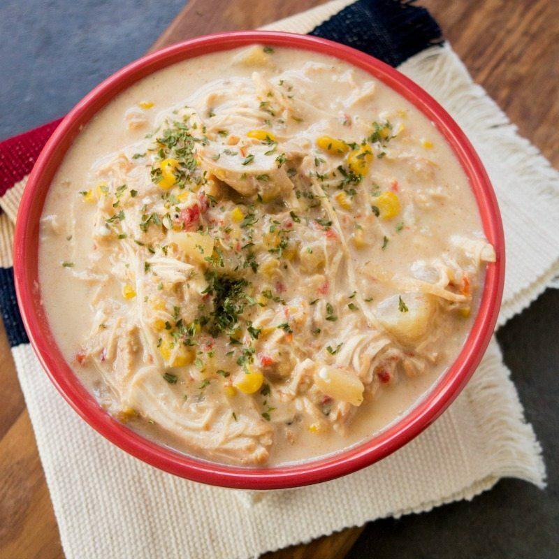 Crock Pot Corn Chowder Soup Recipe