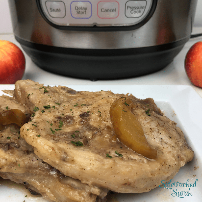 Instant Pot Apple Pork Chops