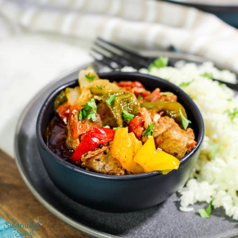 Instant Pot Italian Sausage and Peppers Recipe