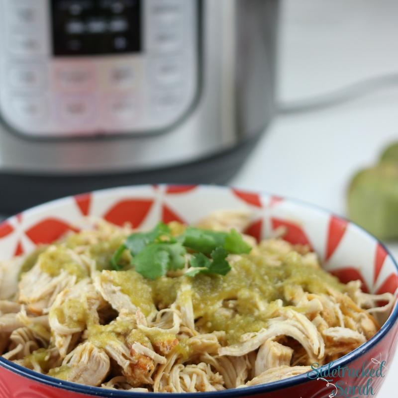 Instant Pot Salsa Verde Chicken Recipe