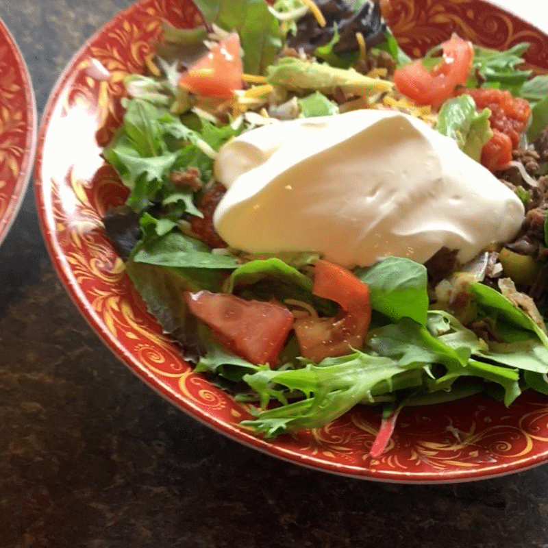 Instant Pot Steak Fajitas Salad Recipe
