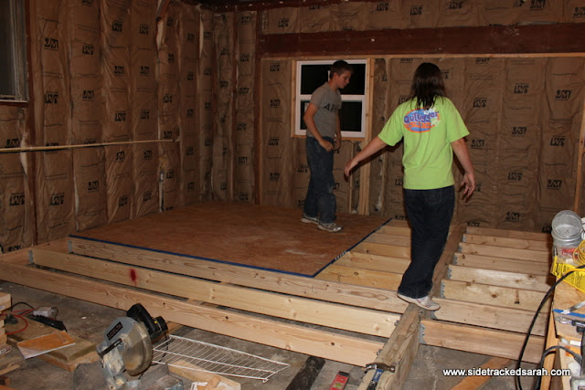 Converting Our Garage Into Bedrooms