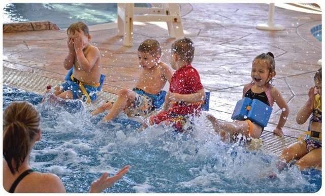 Swimming instruction