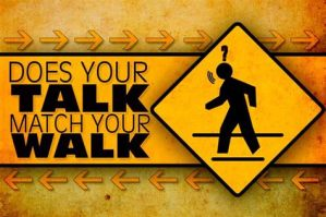 walk your talk