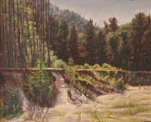 """William Scarlato, """"Quarry in New Hampshire"""""""