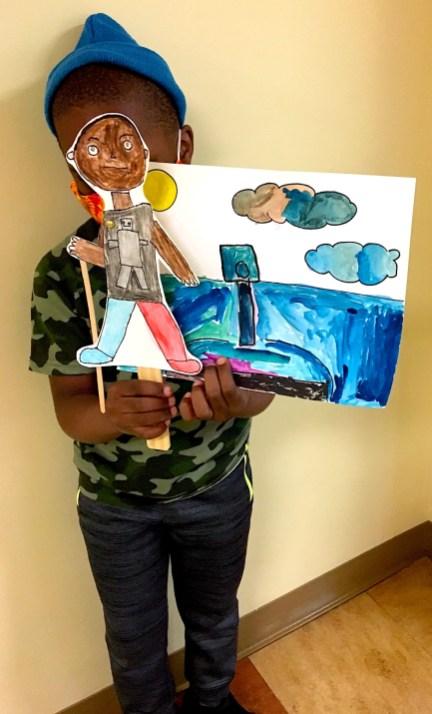 OCEAN puppet goodbye george 3