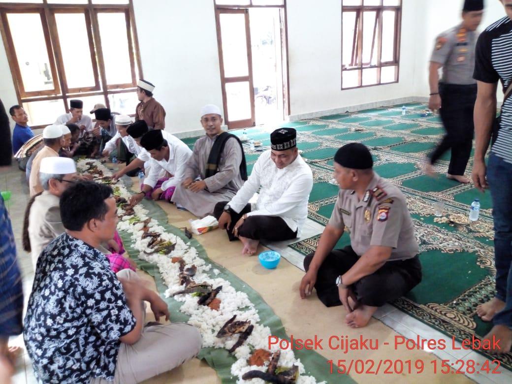 Pererat Silaturahmi, Kapolres Lebak kunjungi Ponpes Salafi Ibnu Rumani.