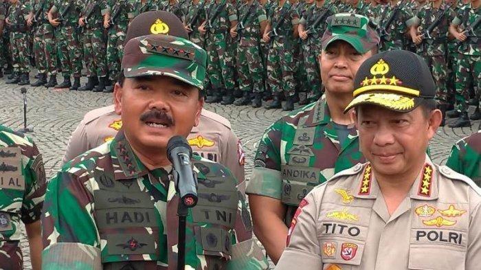 Besok, Panglima TNI dan Kapolri Buka Puasa Bareng di Lanud Roesmin Nurjadin