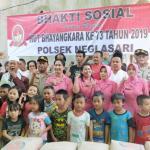 Polsek Neglasari Berikan Bantuan Semen 60 Sak Semen ke masjid Jami' Nurul Hidayah