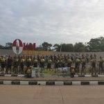 Kasdam XVII/Cenderawasih Kunjungi Pos Komando Utama Satgas Pamtas Yonif 125/Simbisa