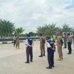 Antisipasi Penyebaran Covid-19, Polres Kukar Bersama TNI, Dishub, Dan Satpol PP Gelar Operasi Yustisi