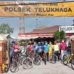 Kapolsek Teluknaga Gelar Goes Sepeda Bersama 3 Pilar  Teluknaga