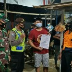 Terapkan Protokol Kesehatan, Polres Kukar Bersama Tim Gabungan Terus Himbau Masyarakat