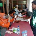 Pemerintah Desa Jatimulya Salurkan 555 KK Penerima BST Tahap 7 Di Aula Kantor Desa Jatimulya