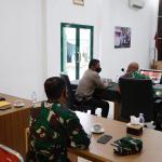 Kapolres Kukar Bersama Dandim 0906/Tgr Ikuti Video Conference Terkait Antisipasi Menjelang Libur Nasional