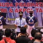 Danjen Akademi TNI : Wisuda Prabhatar Akademi TNI dan Akpol Tingkatkan Soliditas dan Integritas Kebersamaan