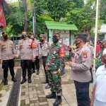Wakapolres Jakarta Barat Sambangi Kampung Tangguh Polsek Tanjung Duren