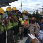 PPKM Mikro, Polresta Tangerang dan 3 Pilar Bagikan 23.649 Masker di 106 Titik Kegiatan