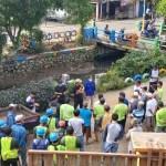 Bersihkan Lingkungan,Desa Rawa Burung Gelar Kerja Bakti