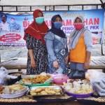 Ketua PKK Desa Tanjung Pasir Bersama Tim Penggerak Gelar Jajanan Jelang Buka Puasa