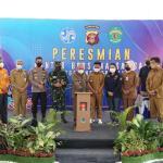 Peresmian Kantor Samsat Bersama Tenggarong Seberang,Kapolres Kukar Terima Penghargaan Gubernur Kaltim