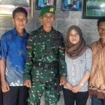 Lolos Ikut Pendidikan TNI AD, Hasrin Tuntaskan Janji Ke Almarhum