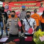 Selisih Uang 300 Ribu, Polisi Amankan Dua Preman Di Kukar Yang Saling Tikam