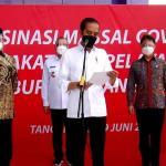 Presiden Jokowi Apresiasi Gubernur Banten Penanganan Covid-19