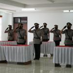 Kapolres Kukar Pimpin Sertijab Tujuh Pejabat Utamanya