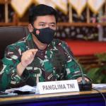 Panglima TNI : Pengetatan PPKM Level IV Berhasil Turunkan Kasus Covid-19 Di Jambi