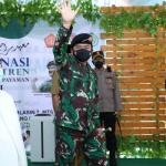 Panglima TNI Ingatkan Santri dan Masyarakat Tetap Pakai Masker serta Disiplin Prokes