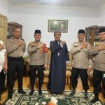 Coling Sistem, Kapolsek Kalideres Sambangi Kediaman Ketua Dai Kamtibmas