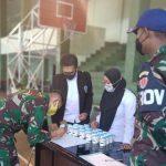 Dinas Jasmani Angkatan Darat Gelar Penyuluhan dan Tes Narkoba