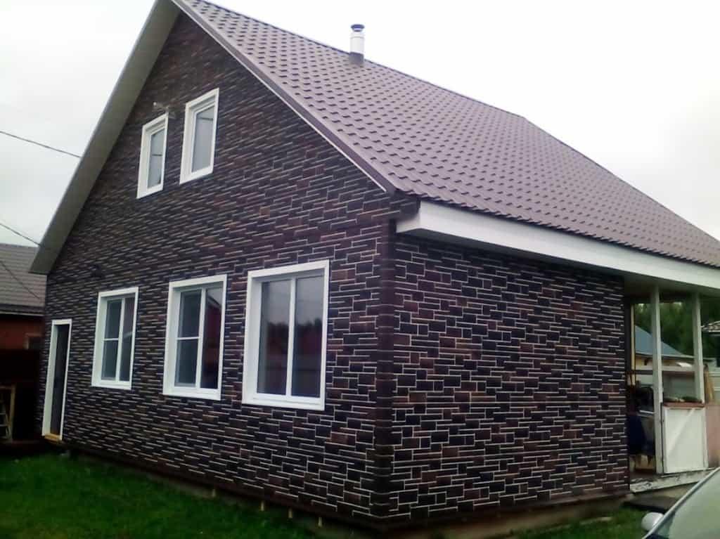 Камень пражский 05 альта профиль фото домов размер панели 796x591x26 мм