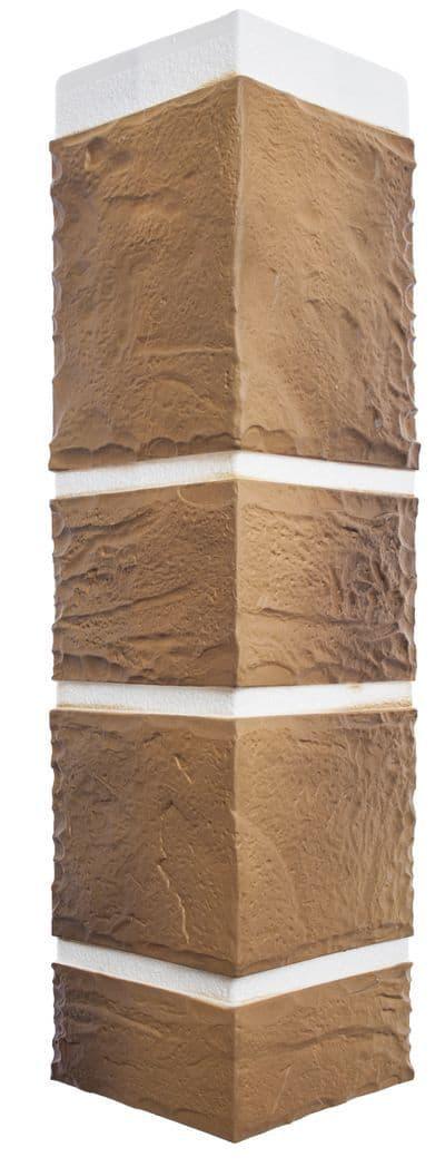 Наружный угол камень Пражский 02 ☑️ размер 472x112x31мм